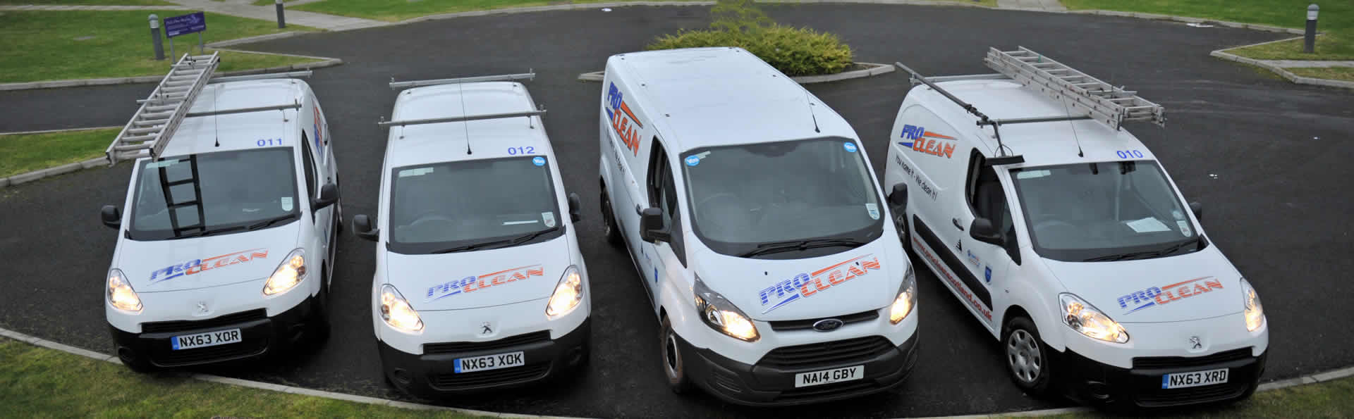 ProClean Cleaners vehicle fleet
