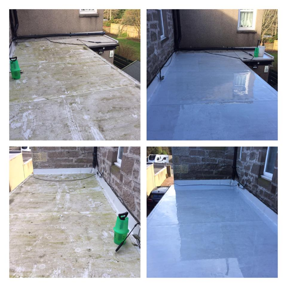 Flat Roof Cleaning Proclean Cleaners Ltd